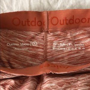 Outdoor Voices Pants - Outdoor Voices - TerraKnit 7/8 Leggings